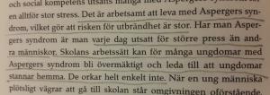"""s. 18 i boken """"Asperger och stress. Inte bara Anna"""" och är skriven av Elisabet von Zeipel i samarbete med Kerstin Alm."""