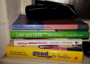 Några av de böcker jag läser...