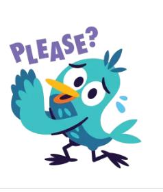 Snälla ! Ge mig en hel dag med flyt! (bilden är från Messenger)