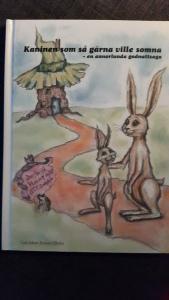 """""""Kaninen som så gärna ville somna - en annorlunda godnattsaga"""" av Carl-Johan Forssén Ehrlin"""